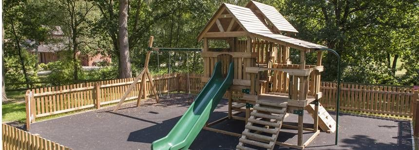 The Fabulous Children's Facilities at the Woodhall Spa Camp Site, Lincolnshire