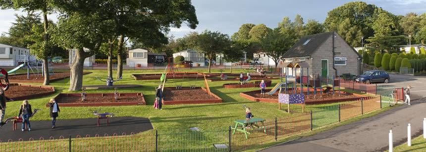 Children's Play Area Alton the Star Camp Site, Staffordshire
