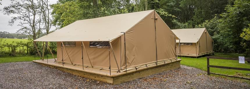 Teversal Safari tent