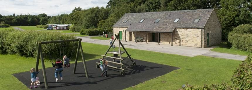 Children's Play Area and Facilities at Barnard Castle, Durham