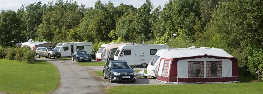 Caravan Pitches at Barnard Castle, Durham