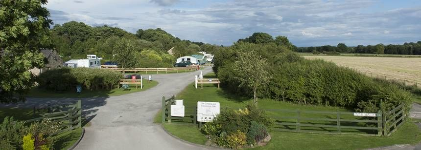Grass Pitches With Wooded Views at Barnard Castle, Durham