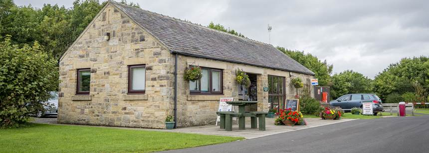 Barnard Castle Campsite Reception