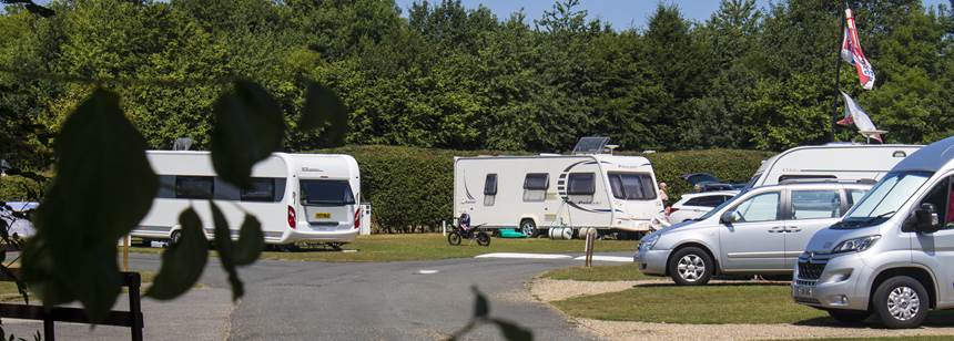 Camping and Caravanning Club site Canterbury