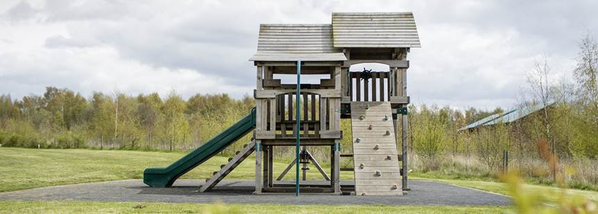 Playground at Conkers Club Site
