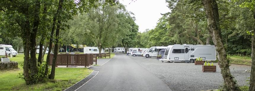 Relaxing and Enjoying the Peaceful Atmosphere at Haltwhistle Camp Site, Northumberland