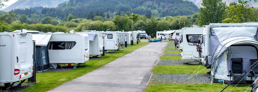 Keswick camping pods