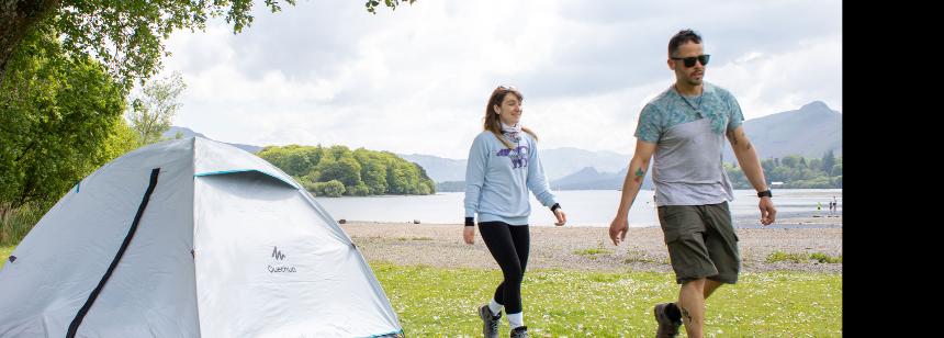 Keswick campsite