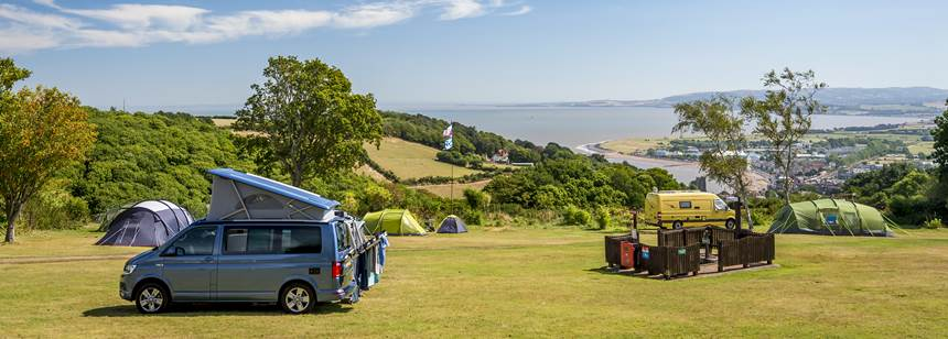 Stunning view from minehead Club Site