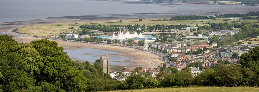 Minehead Club site view