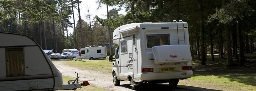 Just Arriving For En Enjoyable Stay at the Nairn Camp Site, Inverness