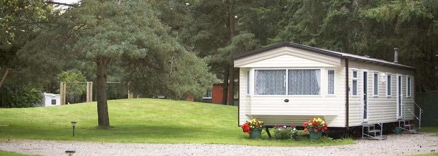 Some of the Self Catering Amenities at the Nairn Camp Site, Inverness