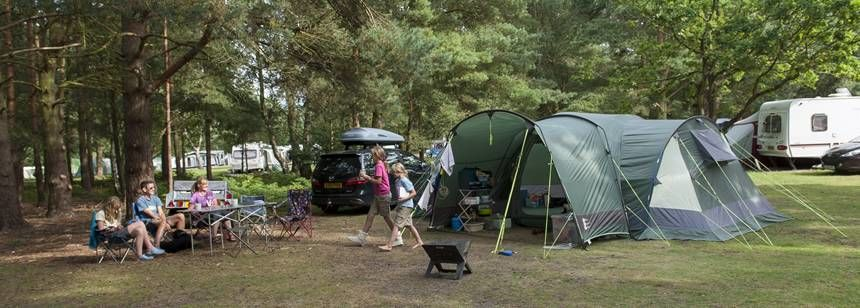 The Sandringham Campsite, Overlooked by the Forests of Norfolk