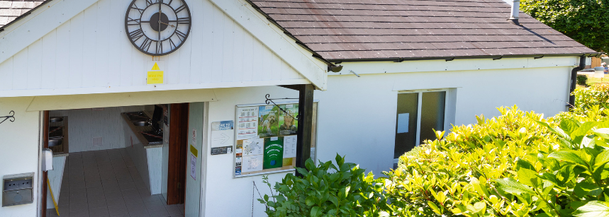 Grass and Hard Standing Pitches at the Tavistock Camp Site, Devon