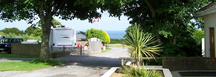 Clean and Comfortable on  Site facilities of Dartmouth Camp Site, Devon