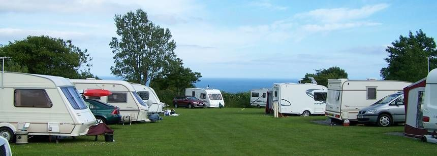 Dartmouth campsite