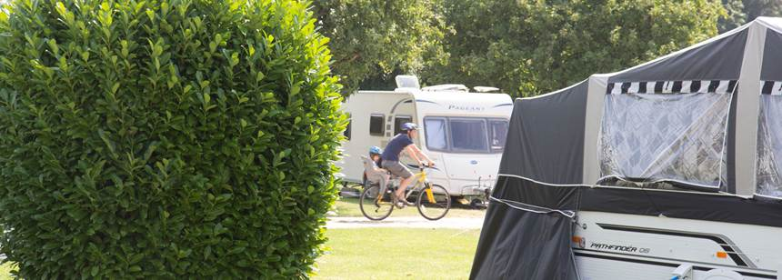 Facilities and Beautiful Surrounds of Chichester Camp Site, Hampshire
