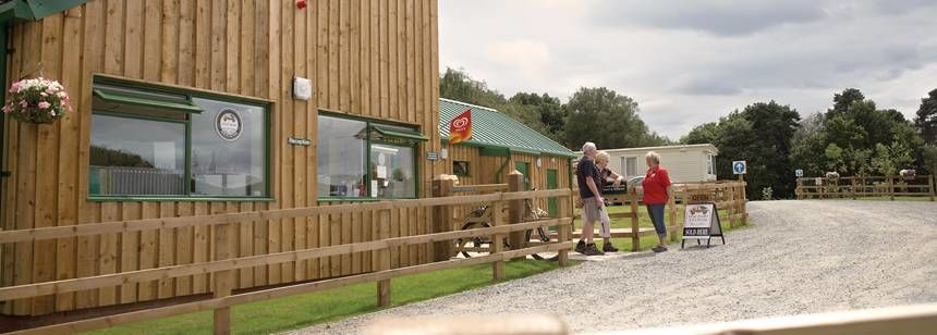 Fantastic Facilities and Onsite Shop at Delamere Forest Camp Site, Cheshire
