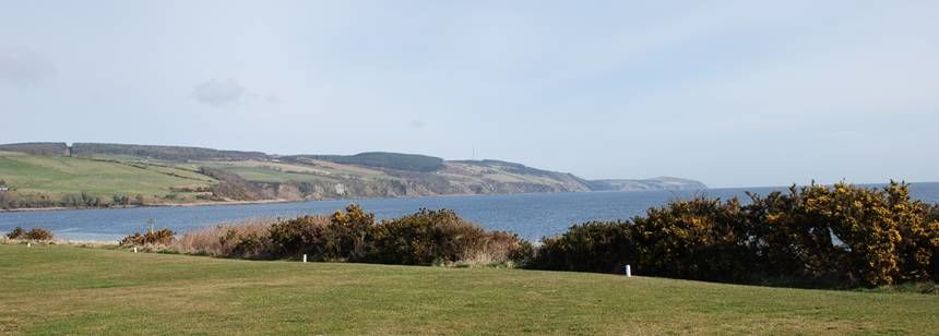 Some of the Scenic Views Overlooking the Bay at Rosemarkie Camp Site, the Highlands