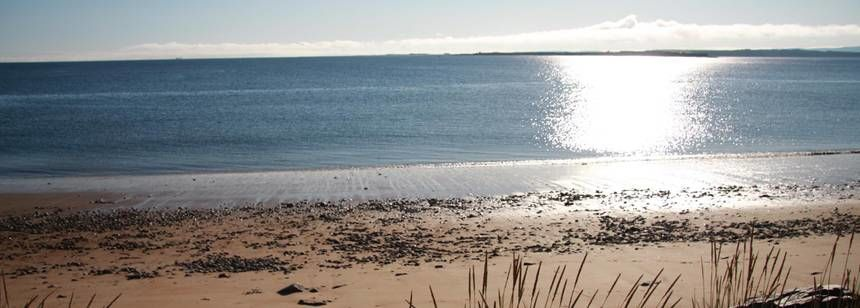 The Sandy Beach Adjacent to the Rosemarkie Camp Site, the Highlands