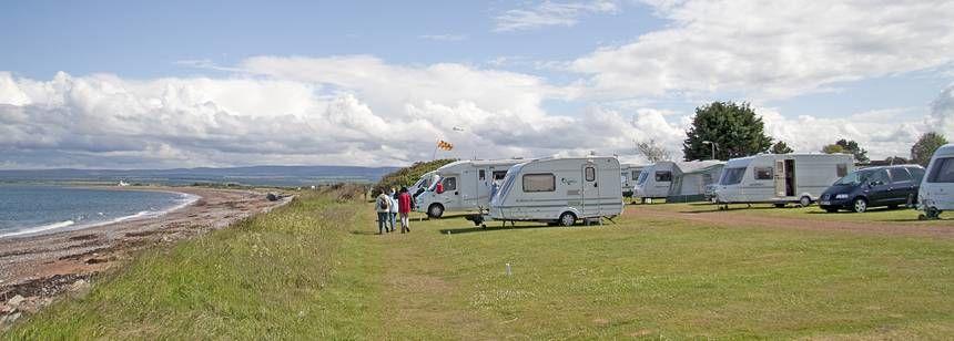 Rosemarkie campsite