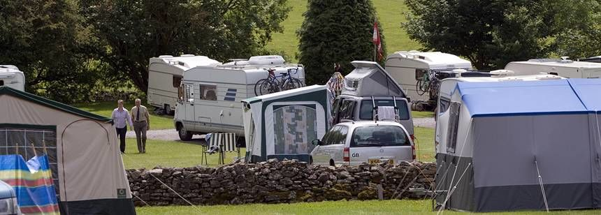 Grass Pitches Overlooking the Stunning Somerset Country Side