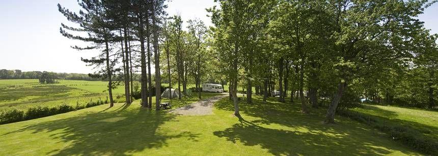 The Scenic Surrounds of the Ravenglass Campsite, Cumbria