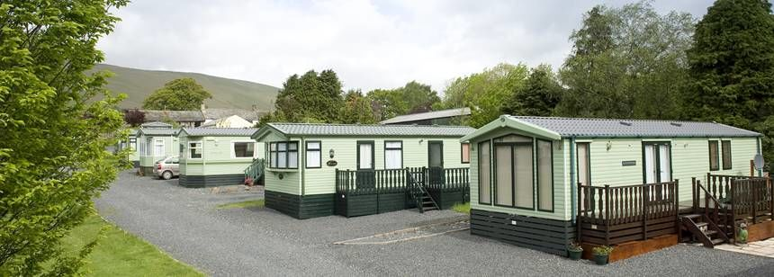 Some of the Self Catering Facilities at the Troutbeck Camp Site, Cumbria