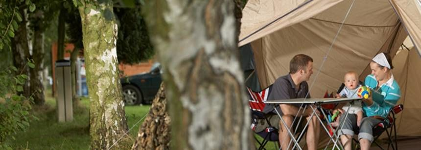 Camping and Getting Back to Nature at Thetford Forest Campsite, Norfolk