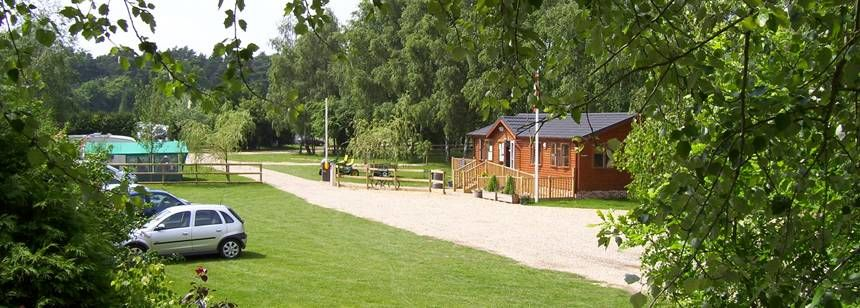 Camping in the Tranquil Surroundings of the Thetford Forest Campsite, Norfolk