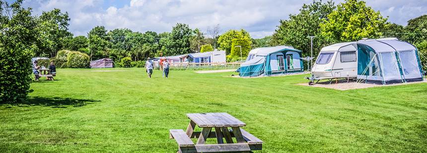 The Wonderful Facilities at Charmouth Camp Site, Dorset