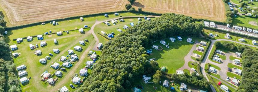 Children'S Play Area and Other Amenities at Charmouth Camp Site, Dorset