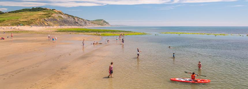 Self catering homes at Charmouth Club campsite