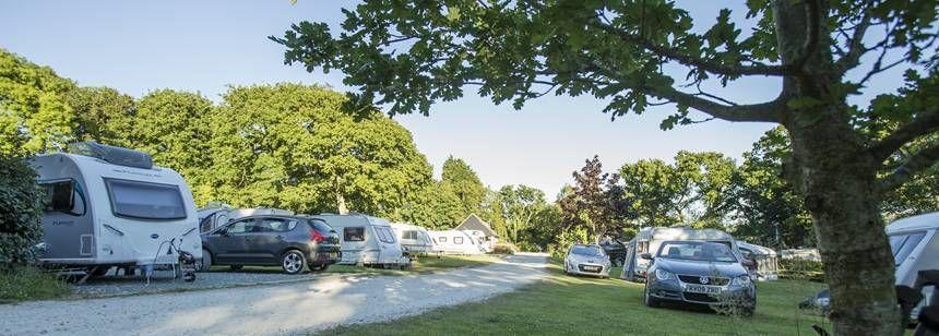 Corfe Castle campsite