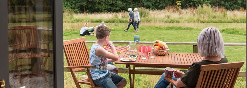 Ashbourne camping and caravanning Club Site play area