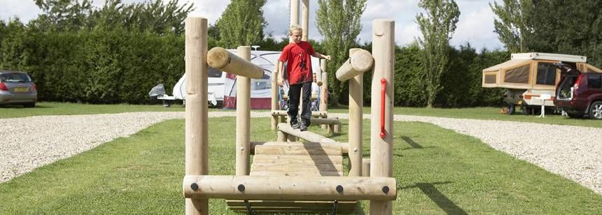 Some of the Best Children's Play Area Available From the Polstead Camp Site, Suffolk