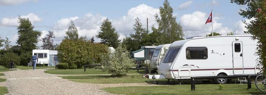 Hard Standing Pitches in the Peaceful Surrounds of the Polstead Camp Site, Suffolk