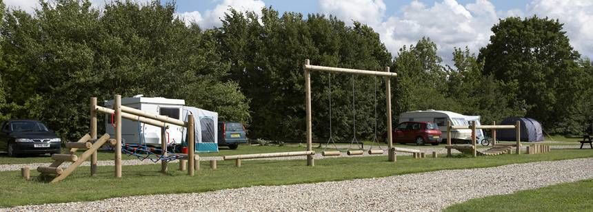More Play Areas For the Kids at the Polstead Camp Site, Suffolk