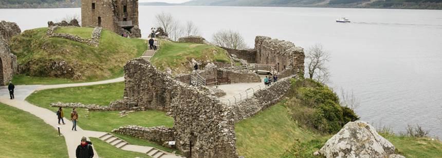 Views over Loch Ness