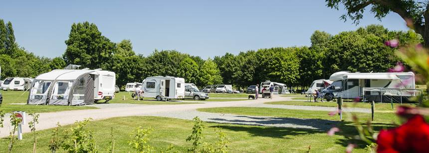 Hereford campsite pitches