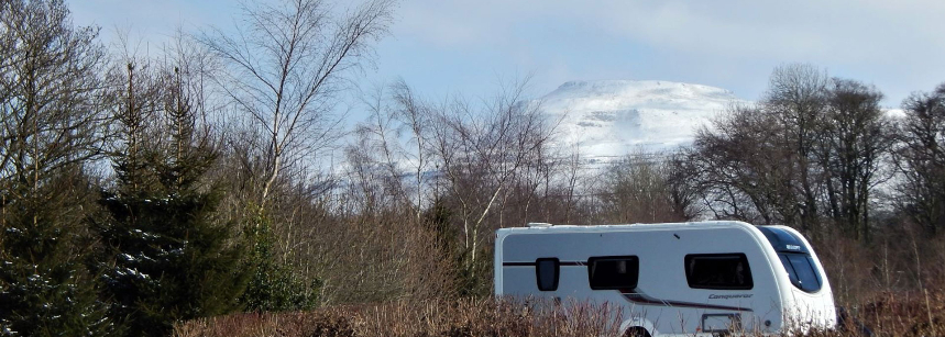 Campsite at Thornbrook Barn