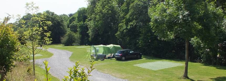 Tent on site