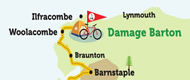 Leg 4: Bude to Damage Barton on the National Cycle Network