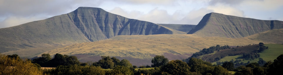 Camping in Brecon Beacons National Park