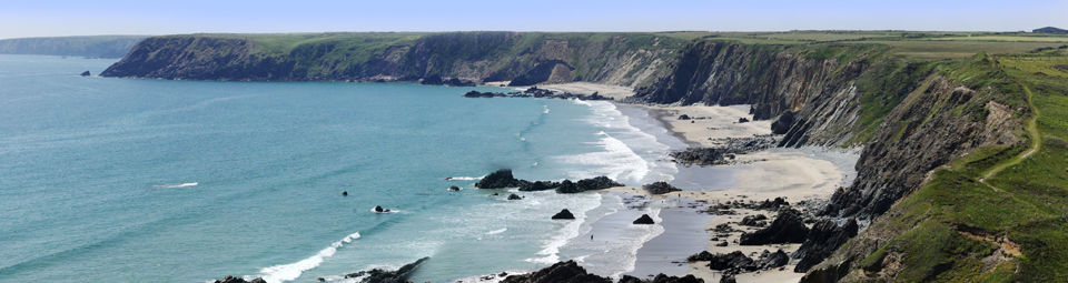 Camping in Pembrokeshire Coast National Park