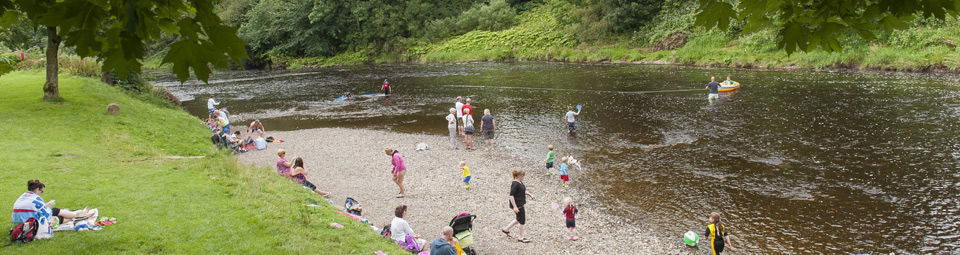 Fishing at Clitheroe