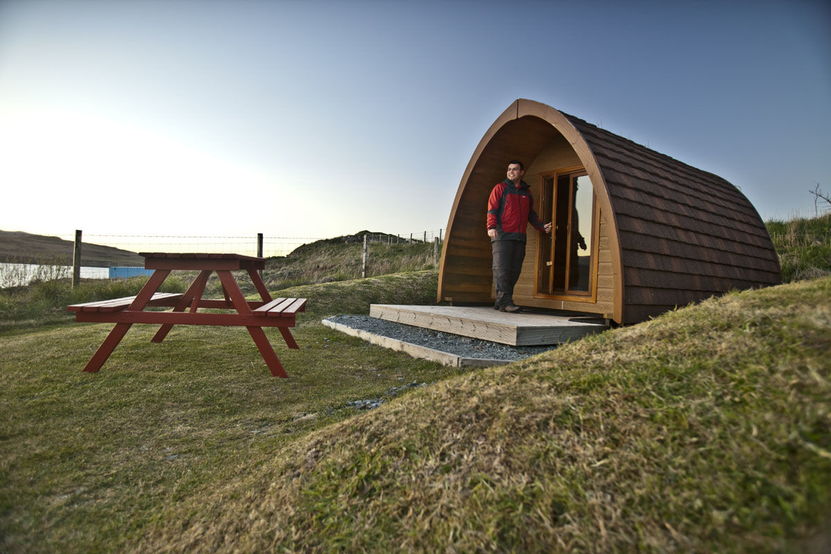 Camping Pods at Skye