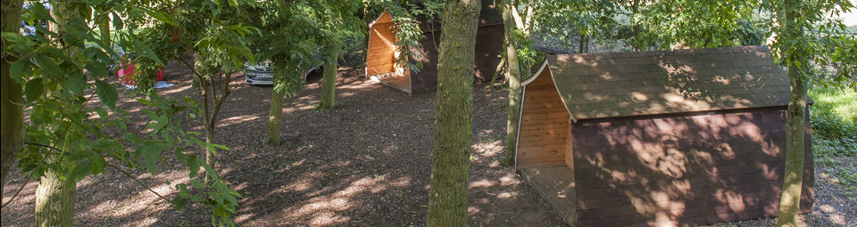 Camping Dens at Gulliver's Milton Keynes Club Site