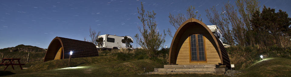 Camping Pods at Skye Club Site