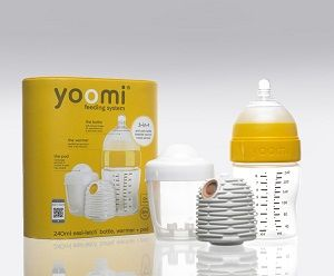 Yoomi ... Self-warming baby bottle